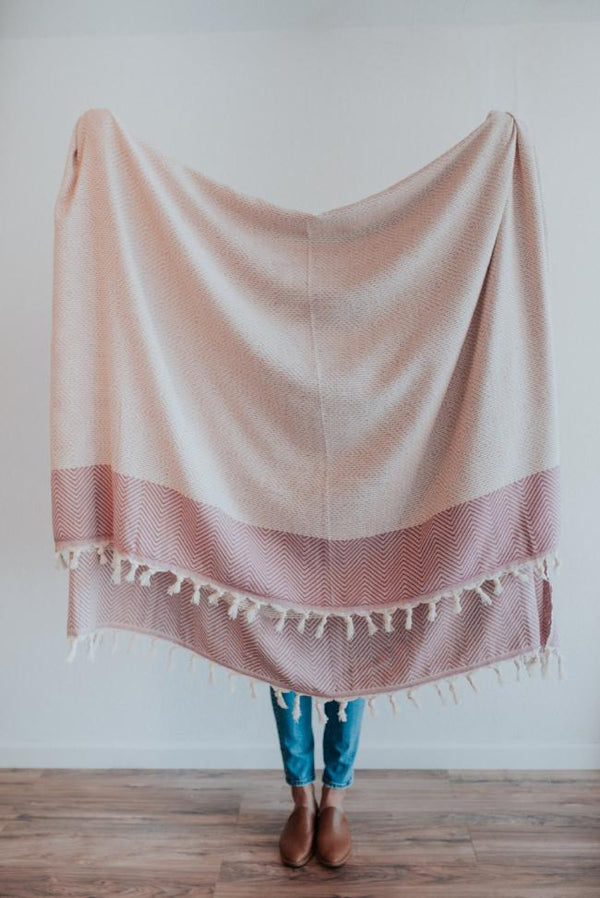 Freya Throw | Purple