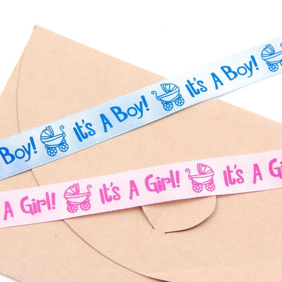 Baby Shower  Satin Ribbon Party Accessories