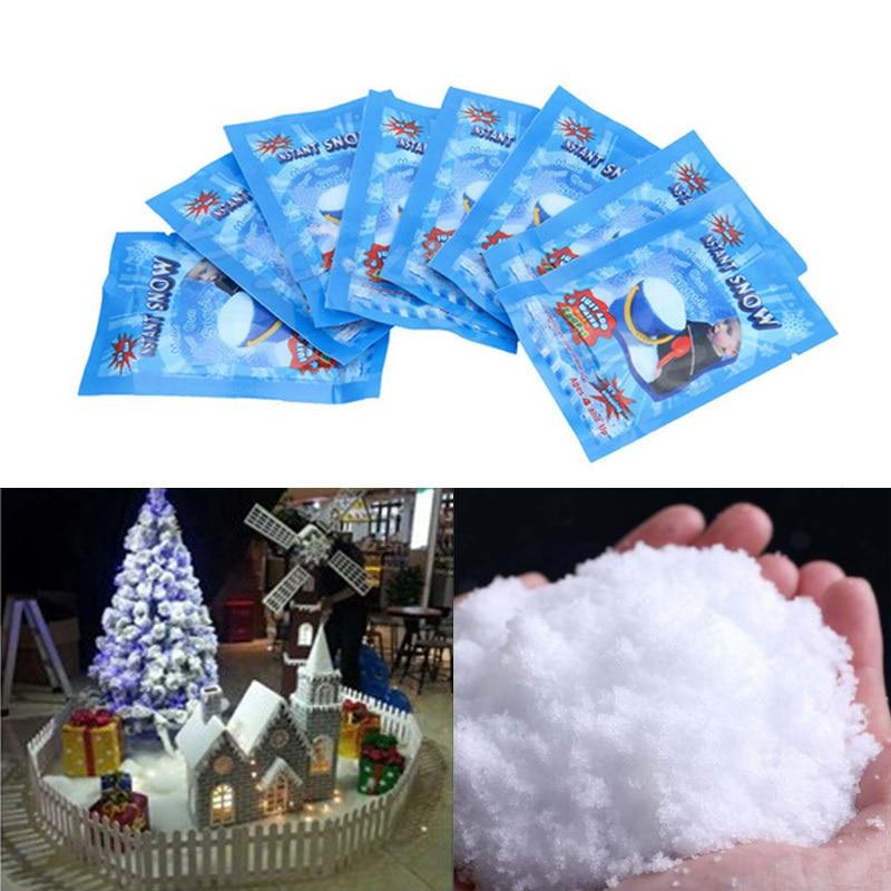 Fake White Snow for Christmas Instant Snow Fluffy