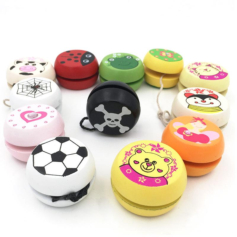 Classic Yo Yo Toys For Children  Wooden Yo Yo