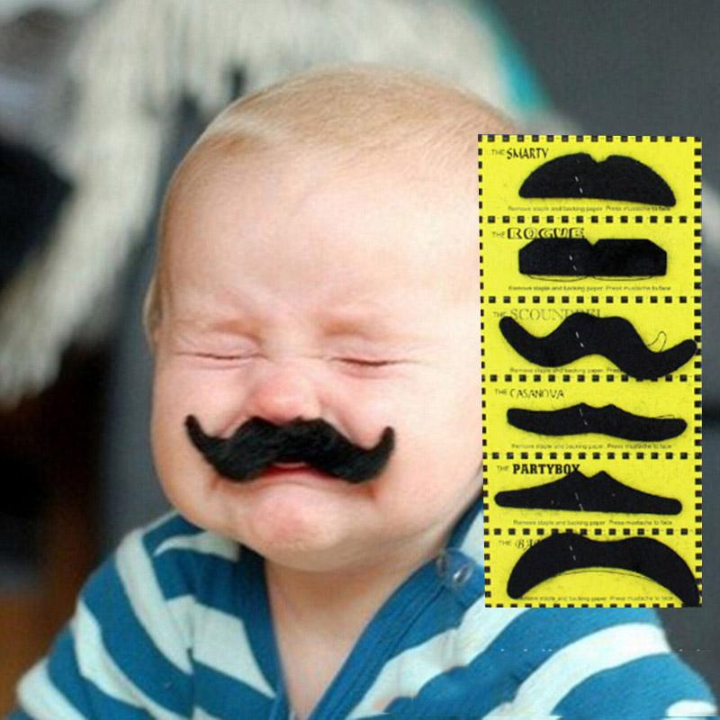 Mustache  12 Pcs Halloween Costume Party
