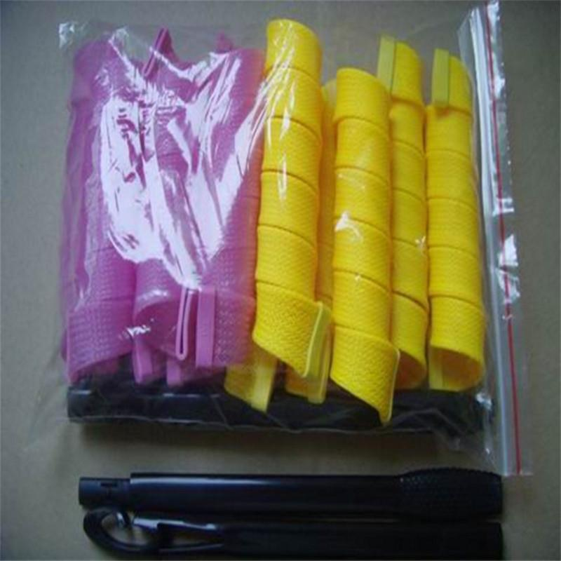 18 Pcs/Set Hair Rollers Magic Roller Magic Curler  Spiral Curls Styling Kit