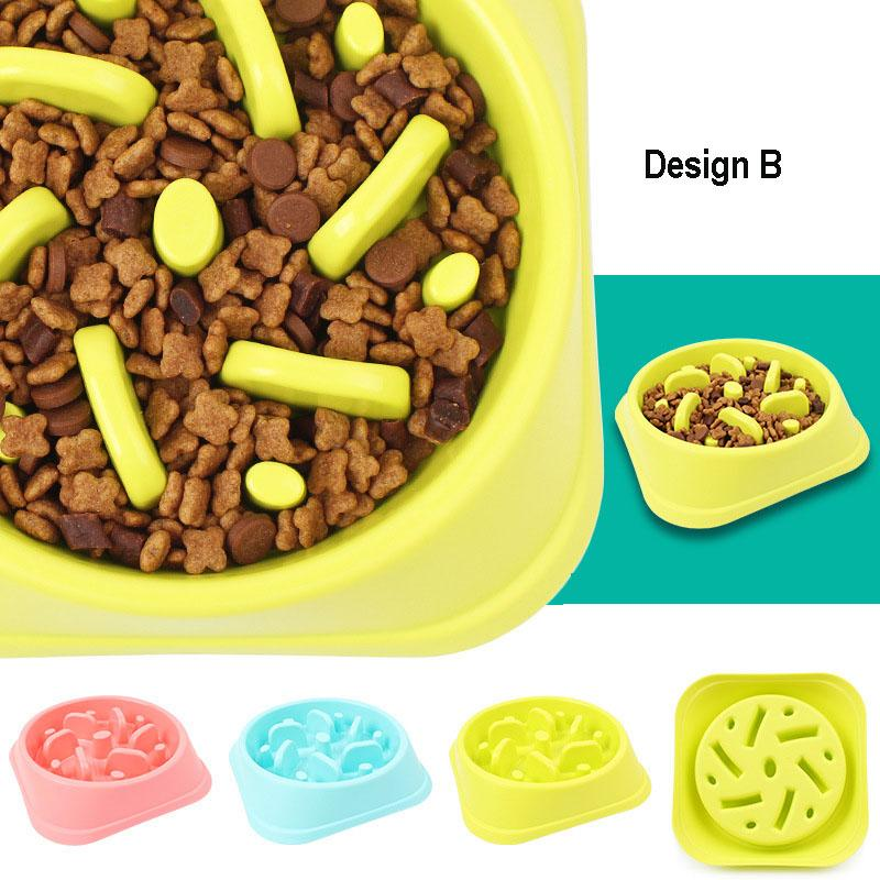 Anti Choke Pet Dog Bowl Feeder