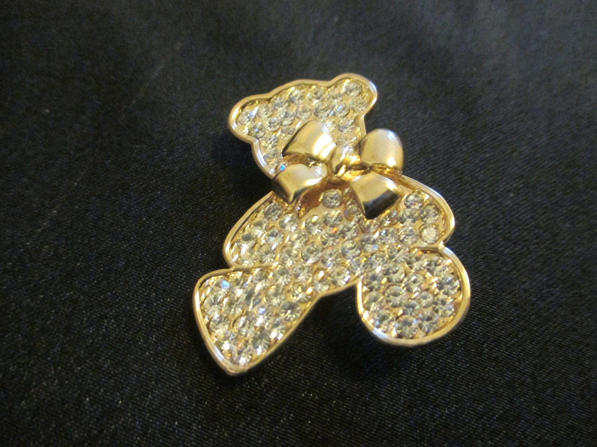 Teddy Bear Pin Brooch