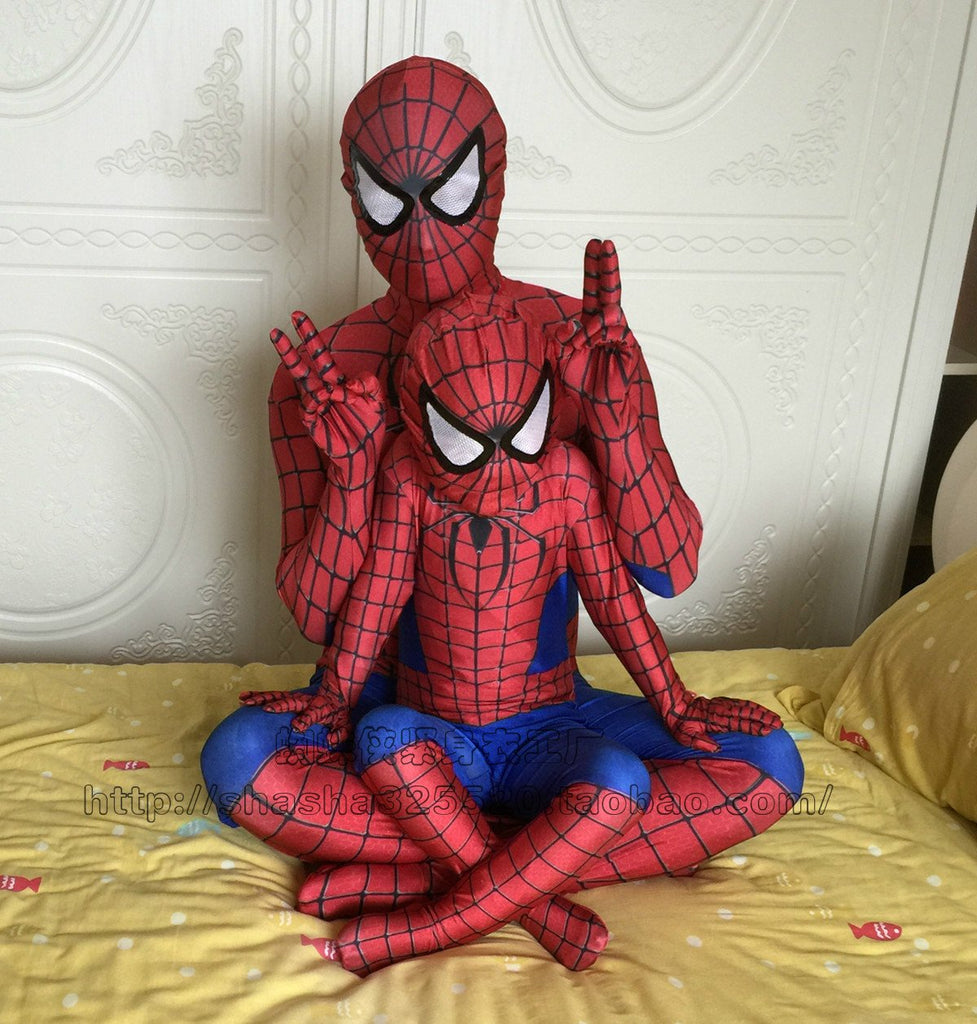 3D Spiderman Costume  Halloween  Party Superhero Costume