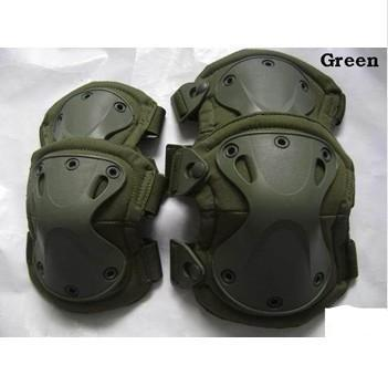 Green Tactical Knee pad  Protection , Knee pads & Elbow pads set