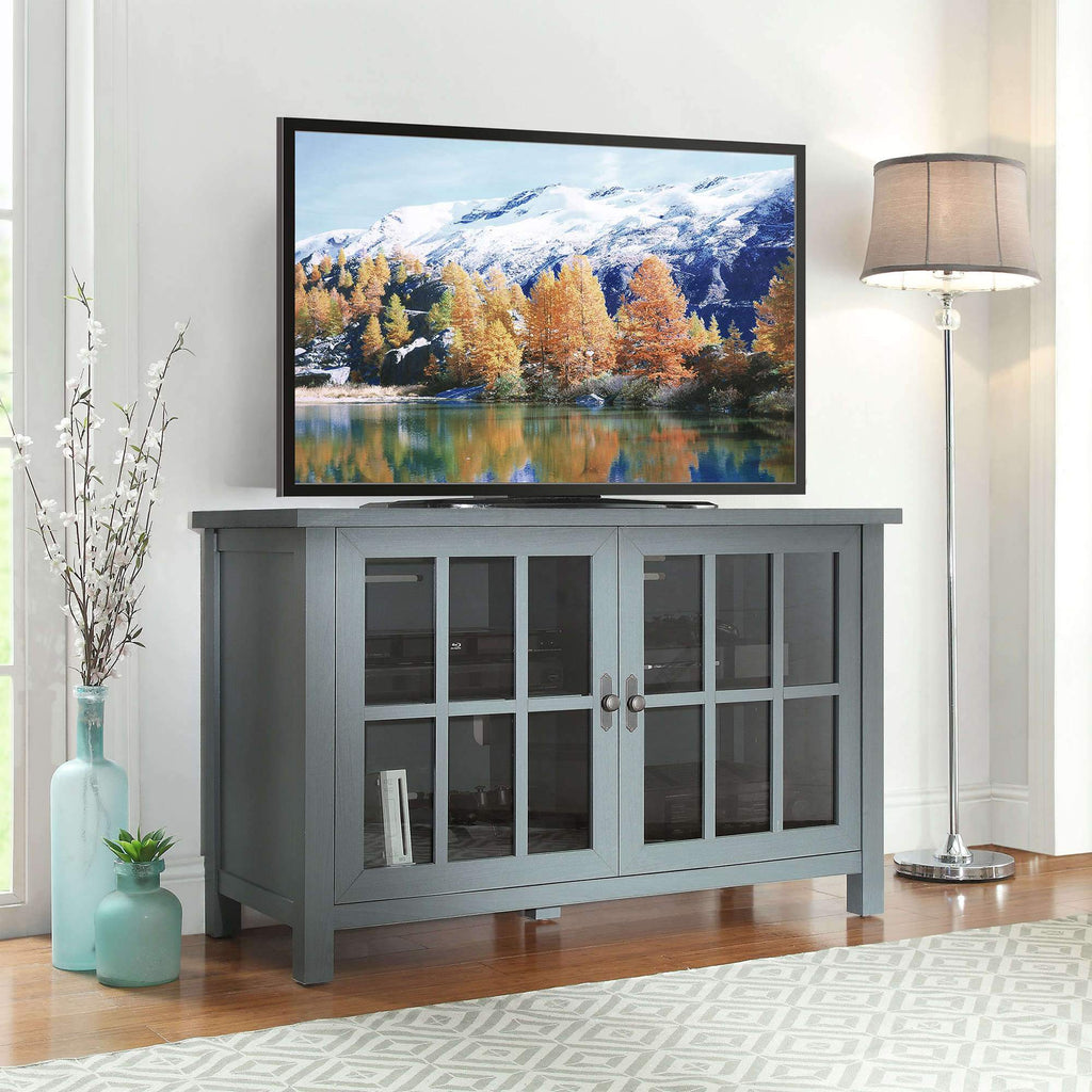 TV Stands Actual Color Blue / Actual Color Blue Better Homes and Gardens Oxford Square Console for TV