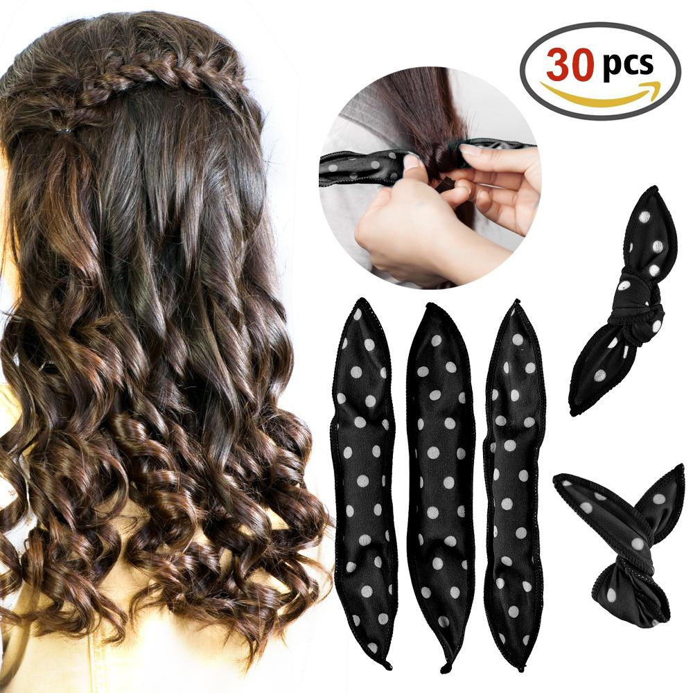 Fexible Foam Hair Curlers Hair Styling Tools
