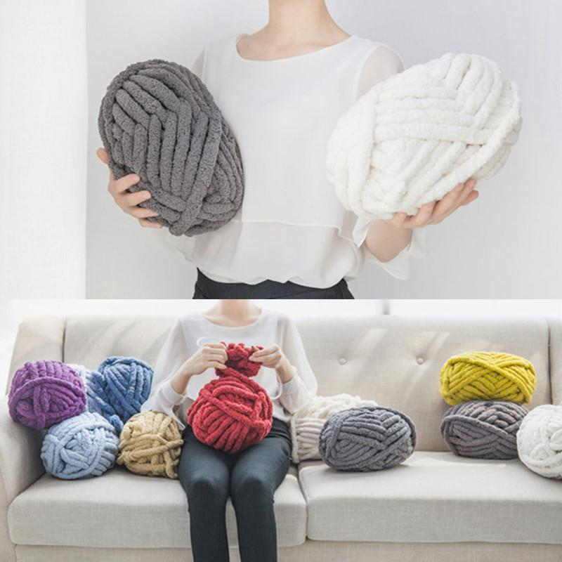 Carpet Hat Scarf Sweater Basket Knitting Polyester Yarn