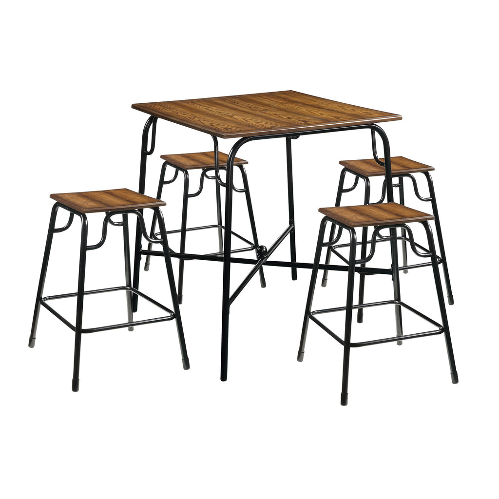 Acme Hachi 5 Piece Counter Height Dining Set by Acme