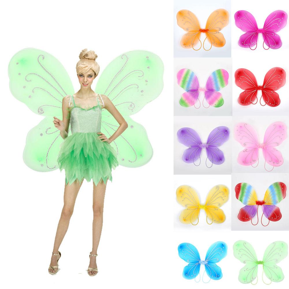 as picture Adult Butterfly Wings Costume 42*31cm Beautiful Elf Fairy Wing