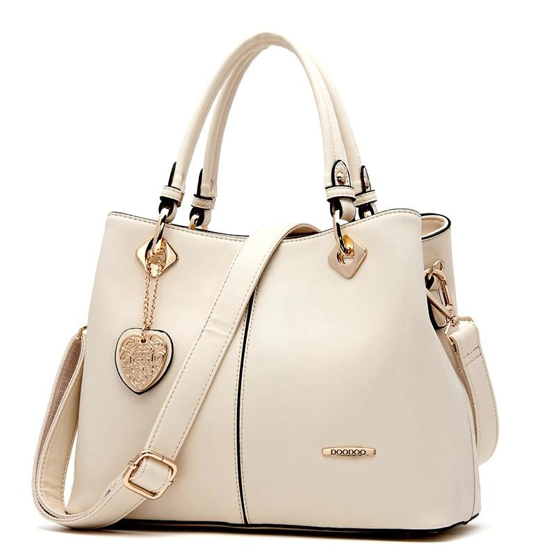 Shoulder Bags Beige Crossbody Designer Leather  Handbags