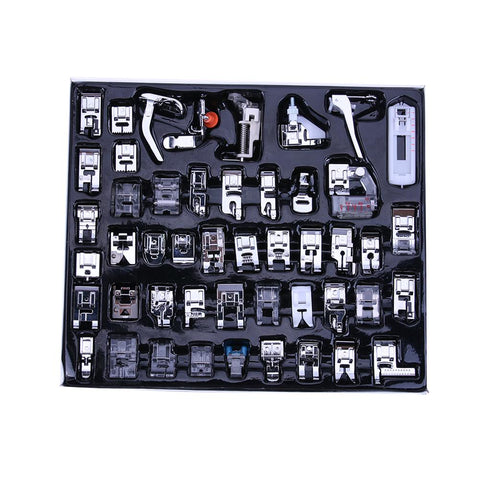 Multi-function Domestic Sewing Machine  Blind Stitch Presser Foot Kit Set