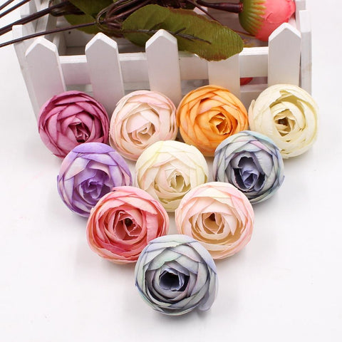 Artificial Flower Silk Small Tea Bud  For Wedding Home Decoration