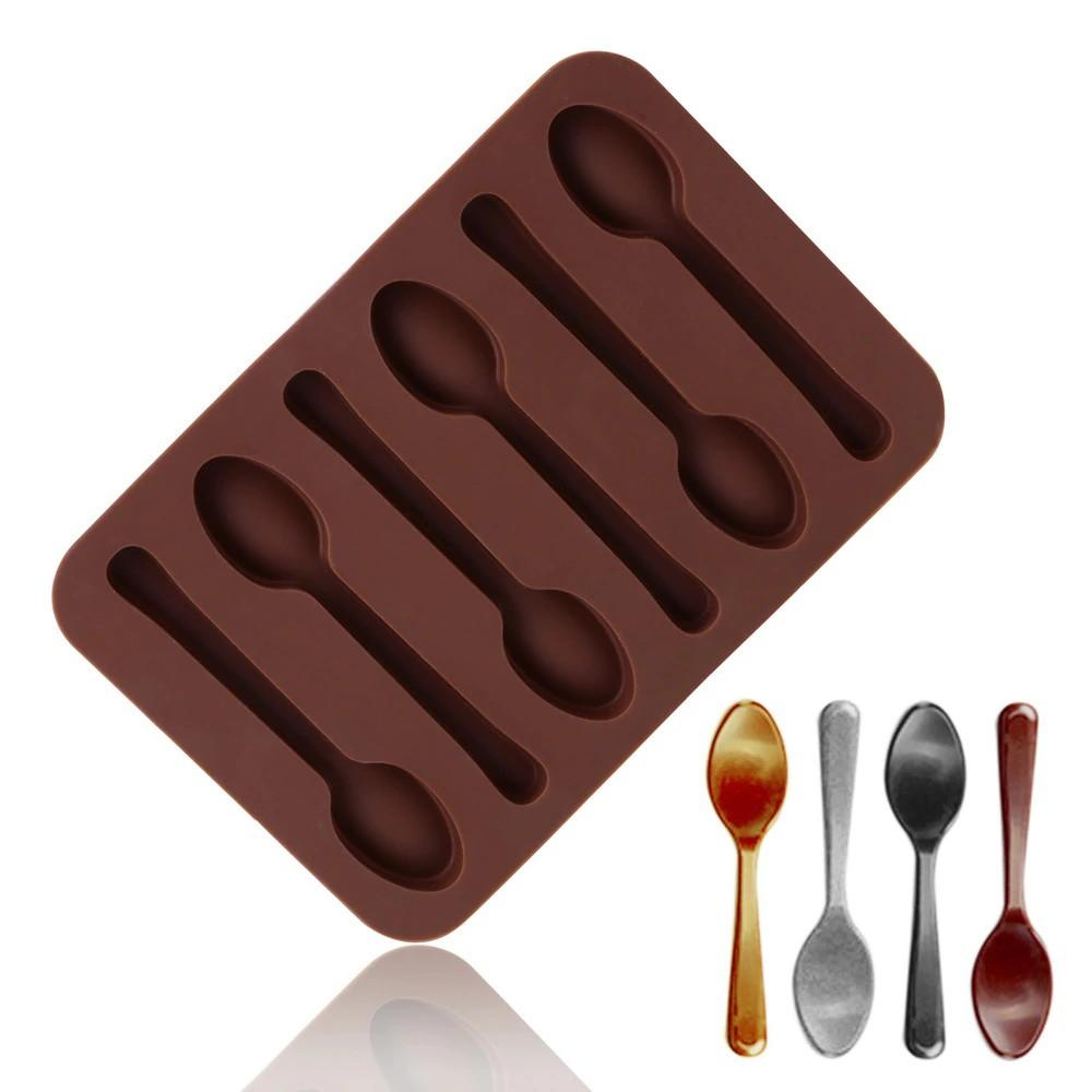Chocolate  Spoon Shape Silicone Mold