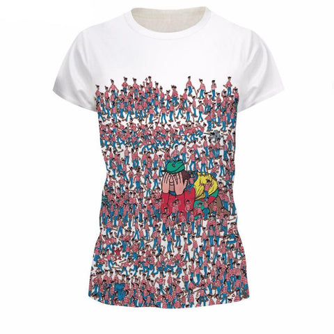 Unisex Casual Printed Short Sleeve T-Shirts