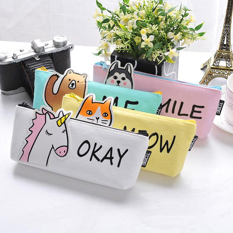 Pencil Case  School Supplies Stationery Gift