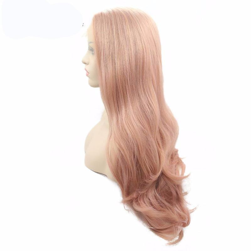 Synthetic Natural Hairline Body Wave Hair Wigs