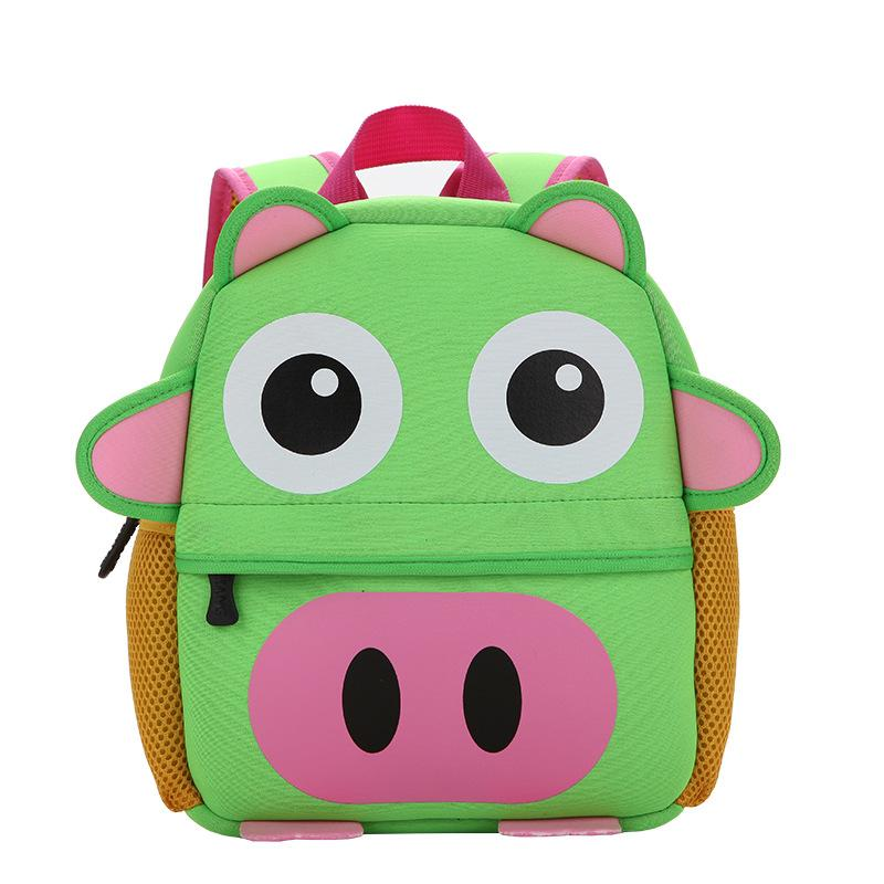 Toddlers Cute Animal Neoprene School Bags