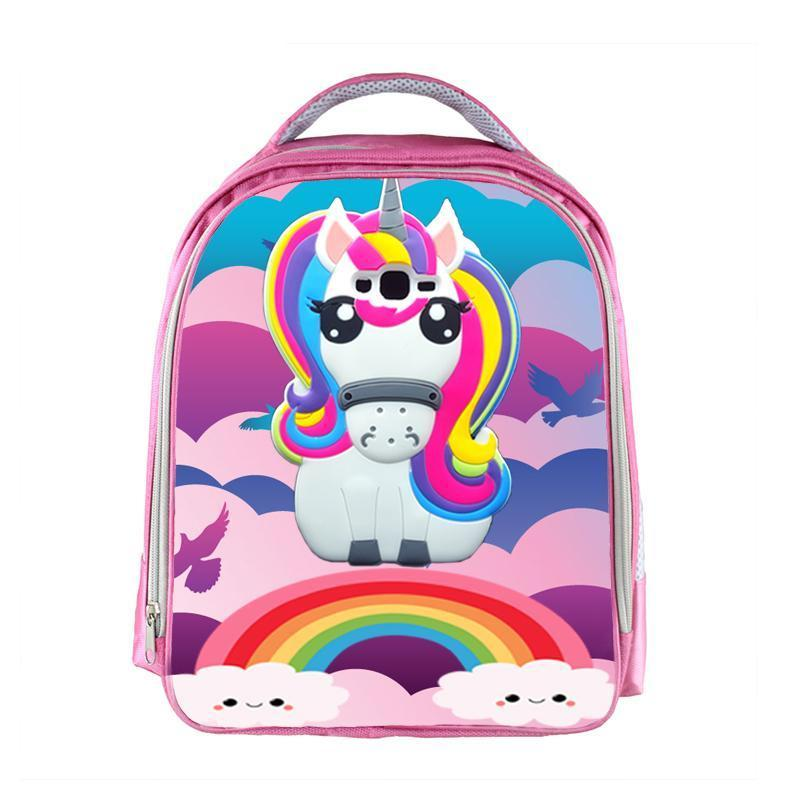 Unicorn Backpack Boys Girls Cartoon