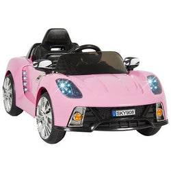 Child's Car Luxury Pink Girl