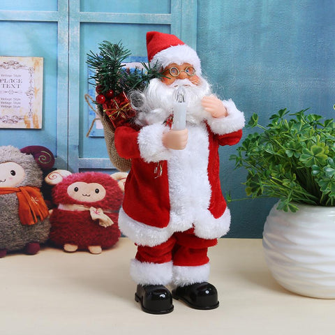 Dancing Singing Santa Claus  Christmas Ornament Party Decor