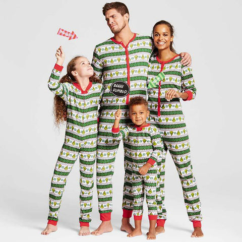 Family  Jumpsuit Nightwear Onesie