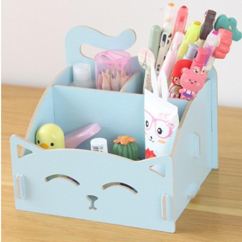 Multi-functional  Wooden Cosmetic Storage box
