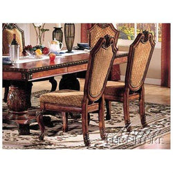 Elegant Chateau  de Ville Side Chair Set of Two