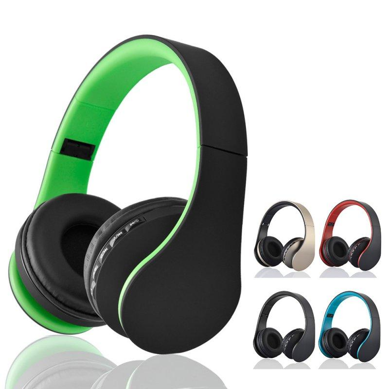 Stereo Headphones Wireless Headset Music with Microphone