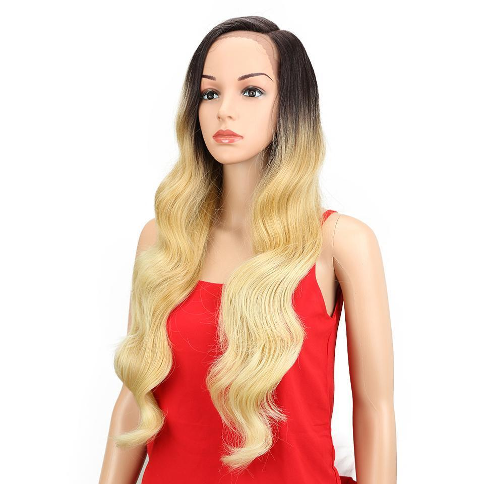 Diva Wig Long Blonde Body Wave  Synthetic Wigs