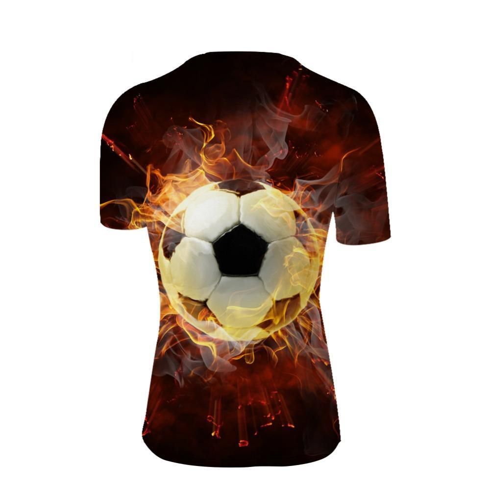 Male  T Shirts  Football Soccer Sporting tees
