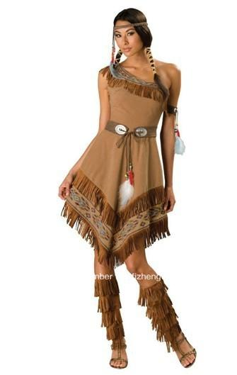 Pocahontas  Costume Princess Fancy Dress