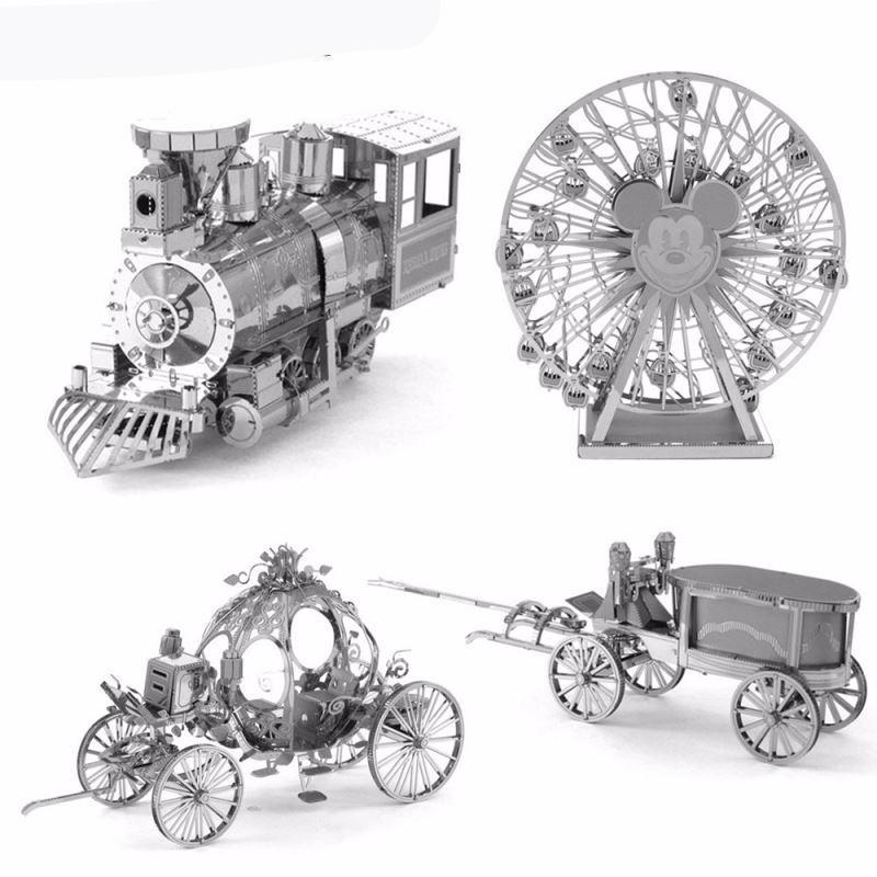 3D Puzzles Metal Jigsaw Puzzle intelligence