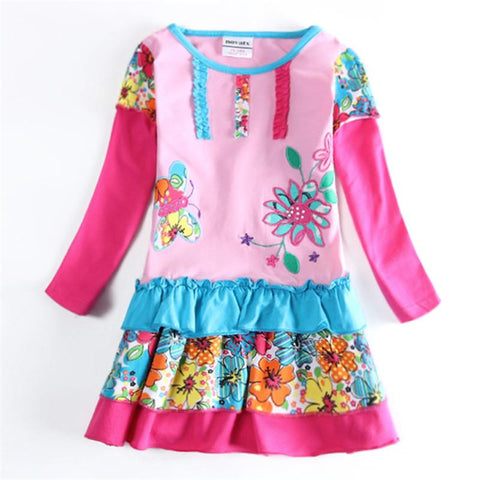 Adorable Girl  Floral Dress  Children Clothes