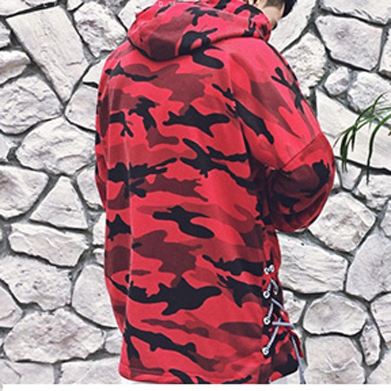 Hoodies & Sweatshirts Blue / M Camouflage Hoodie Men Sweatshirts