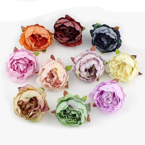 Peony Flower Artificial Flowers For Wedding Decoration