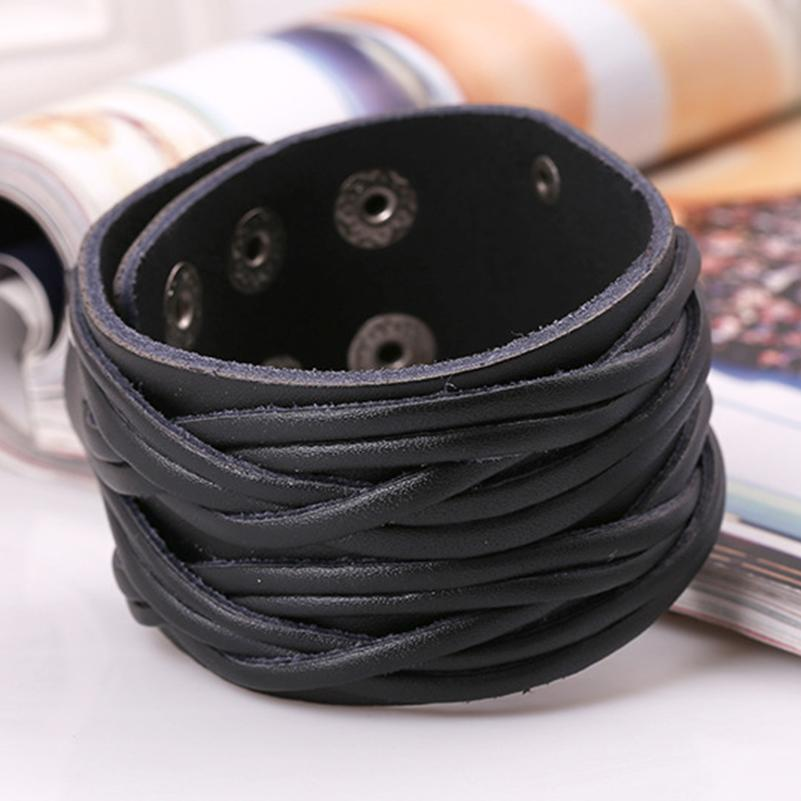 Boho Gypsy Leather Braid Unisex  Bracelet