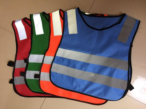 Road Traffic Student Children Reflective Vests