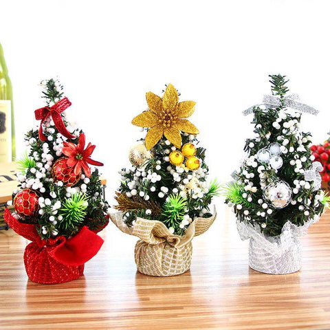 Mini Christmas Tree Small Pine Decor Ornaments