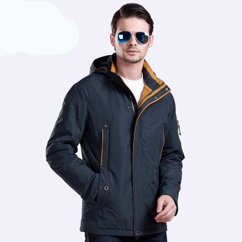 Jackets M430 / XL Large Size Polyester Winter Jacket Men Parka Spring Casual Warm Coat