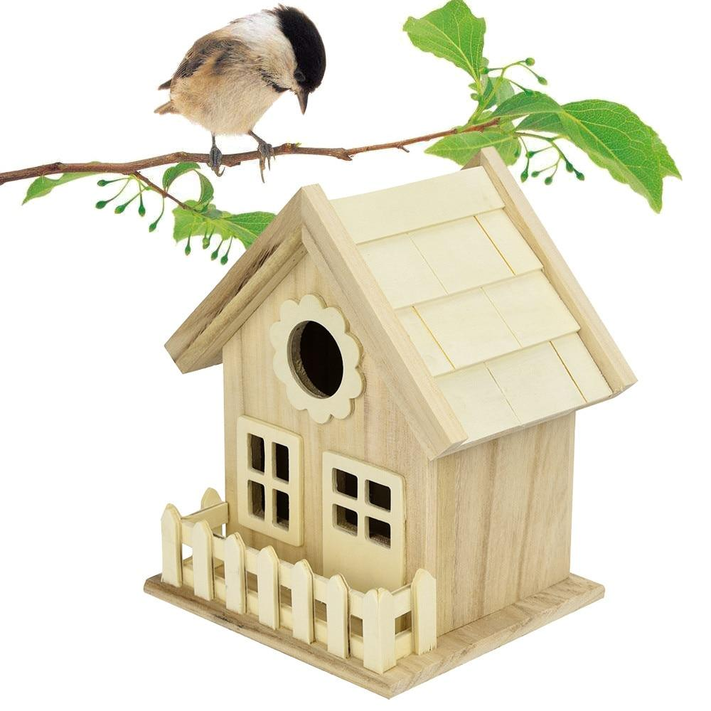 Wooden Bird House Bird Nest Bird Box