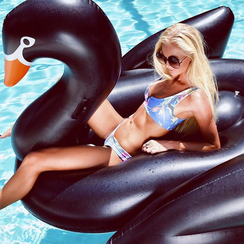 Swimming Rings adult black Swimming Pool Float Lake Pool Lounge
