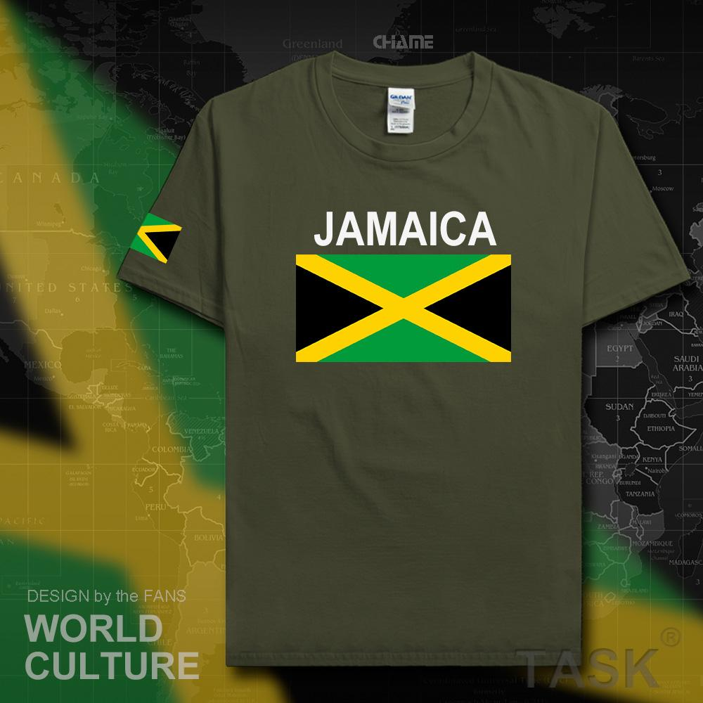 Jamaican Male  T shirt Jerseys  Cotton T-shirt