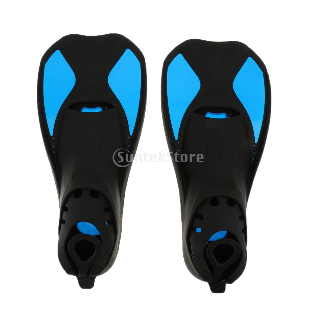 Swimming Fins Blue XXS Snorkeling Scuba Diving Swimming Training Flippers