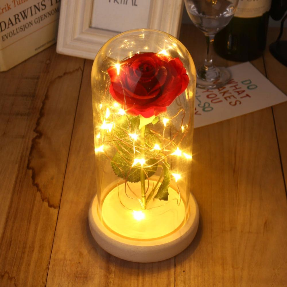 Artificial Preserved Rose Flowers Valentine'S Day Gift for Lover