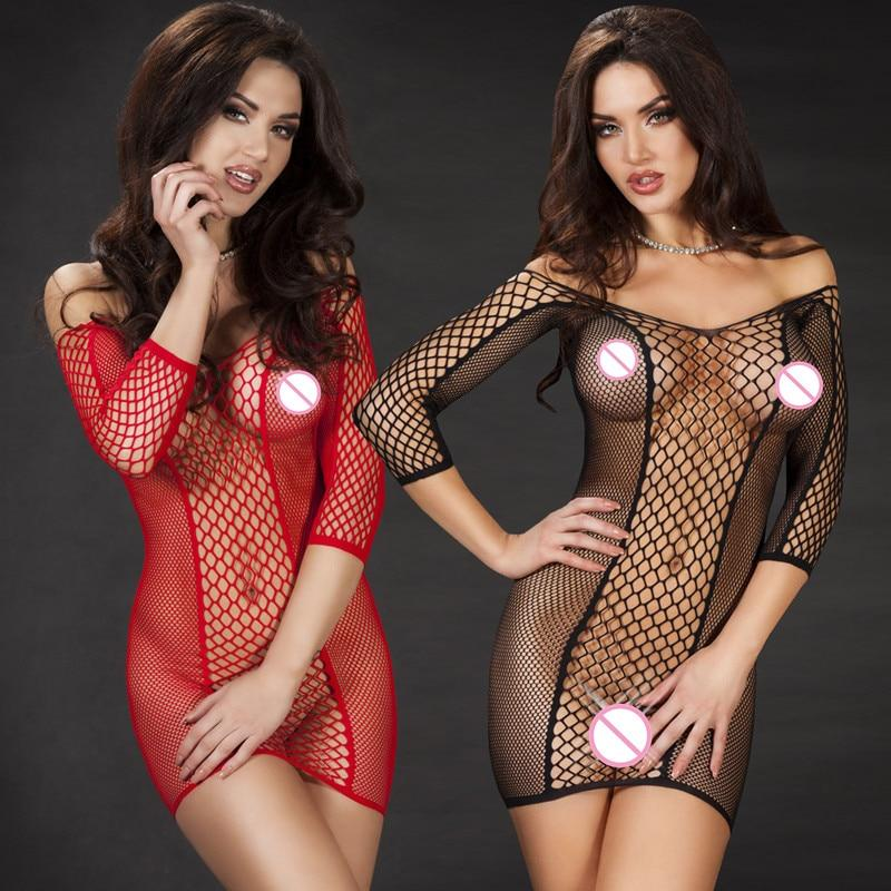 Erotic Costumes Sexy  Transparent Lingerie
