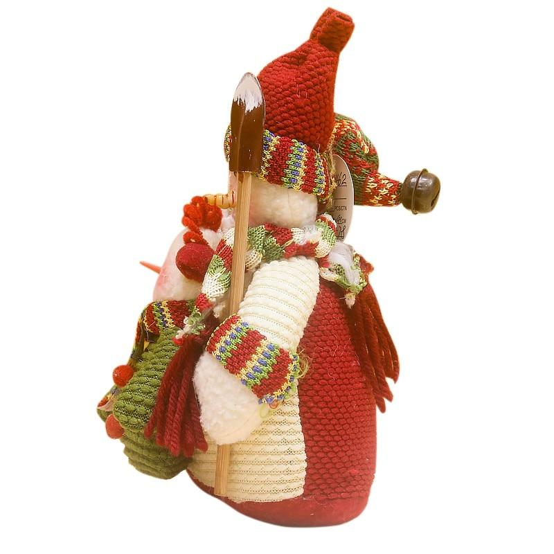 Santa Claus Snowman Christmas Ornament Kids Doll