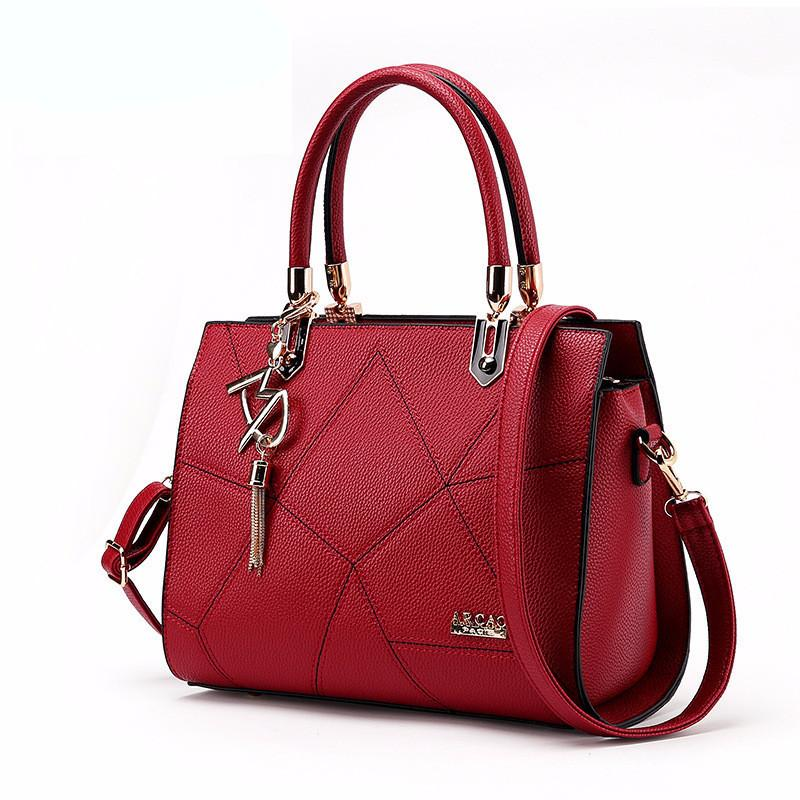 Black Luxury Handbags Ladies Solid Color Designer Bags