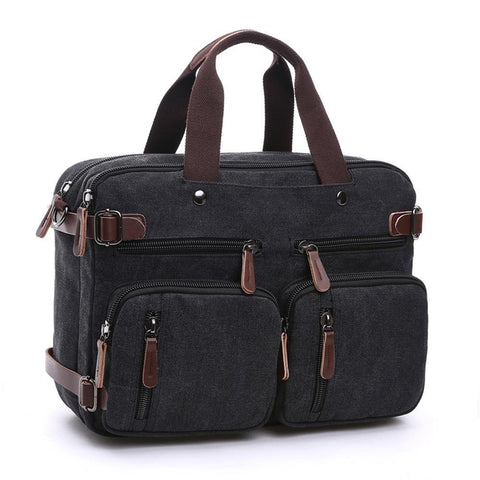 Canvas Men Travel Bags Hand Luggage Duffel Bags